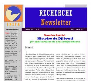 Bulletin n.6 de l'IRICA